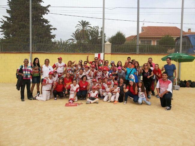 Todos juntos en el Campeonato de España Alevín 2014